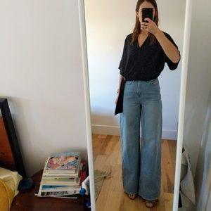 BDG Puddle-High Waist, Wide Leg Jeans